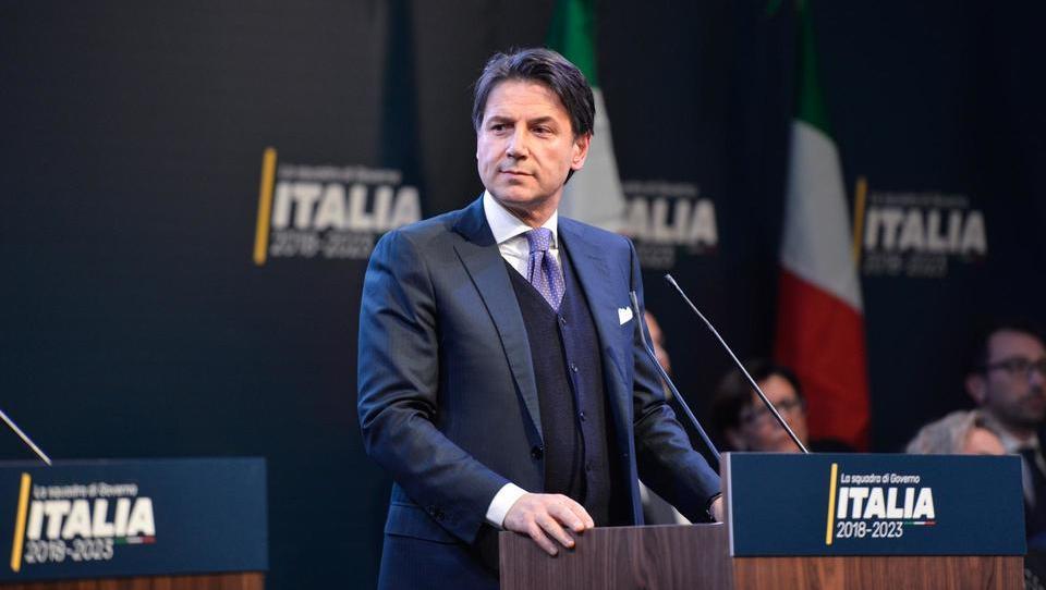 Mandatar italijanske vlade profesor prava Giuseppe Conte