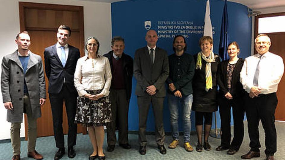 Novi okoljski minister se je sestal z nevladniki