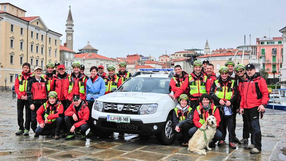 Romunska dusterja za slovenske gorske reševalce