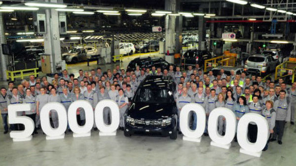 Dacia s številko 5.000.000