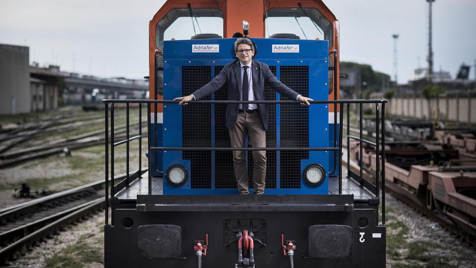 V tržaškem pristanišču so dobili evropske milijone za prenovo železniške infrastrukture