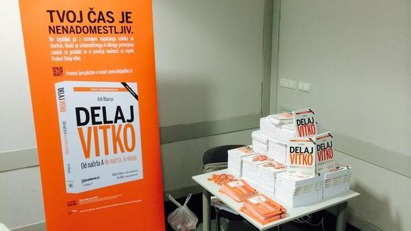 V Ljubljani spletni prenos največje konference Lean Startup na svetu