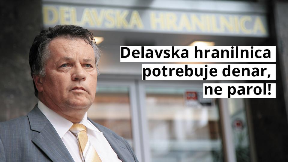 Po Ivanušičevem Slugi Financam piše še samooklicani bančni car iz Delavske hranilnice