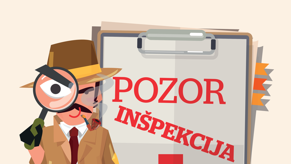 Kateri inšpektorji so najbolj garali in kateri največ kaznovali