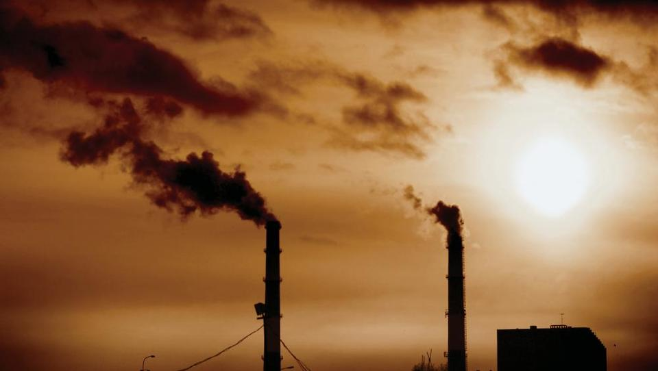 Spodbudno: energetika lani ni povečala onesnaževanja