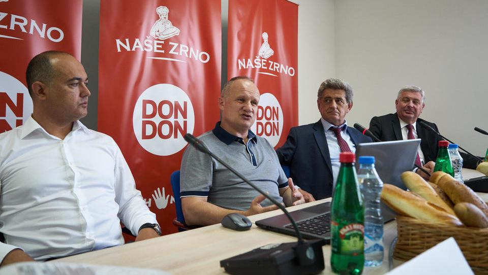 Don Don odprl pekarno v Črni gori
