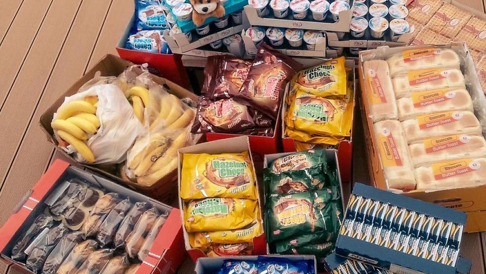 Trgovina ali gostinec za donirano hrano ne plača DDV
