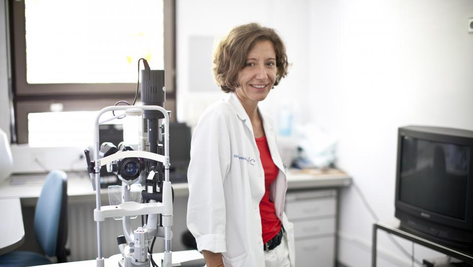 Kako poteka presejanje za diabetično retinopatijo?
