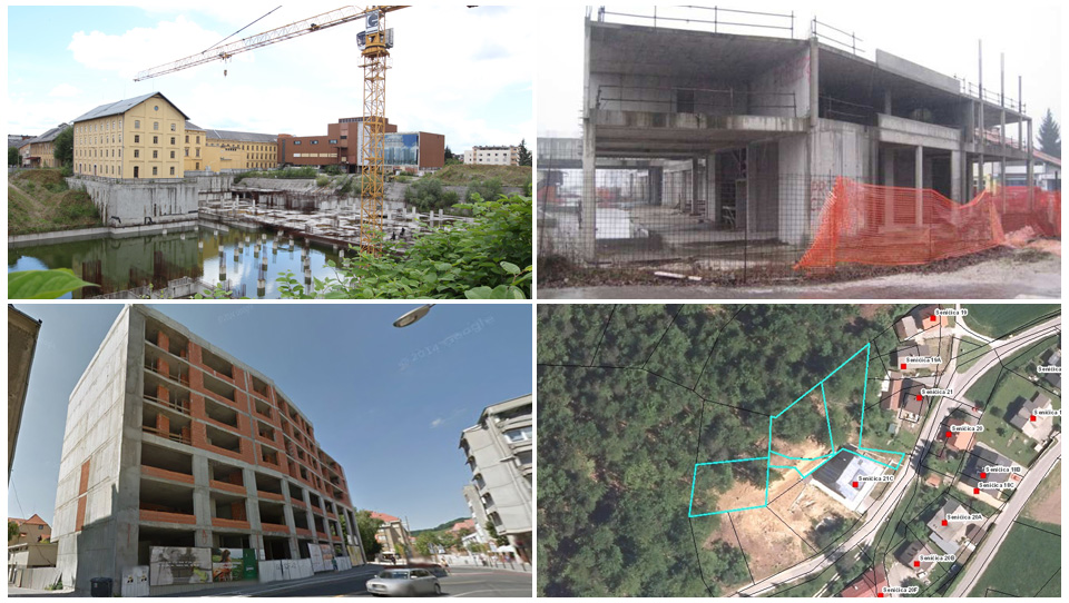 Začenjajo se nove dražbe nedokončanih stanovanjskih sosesk