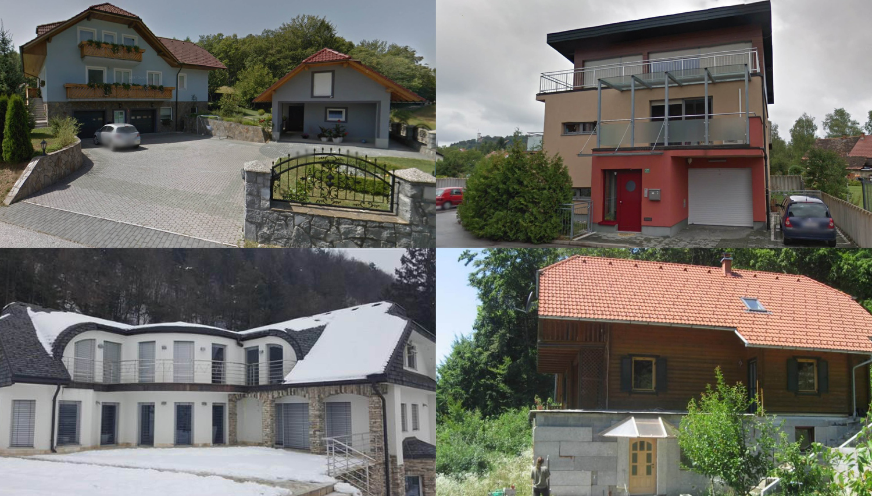 Te hiše boste lahko oktobra kupili na dražbah