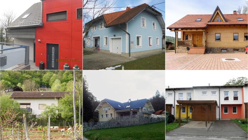 Tu je vseh 37 hiš, ki bodo naprodaj do konca aprila