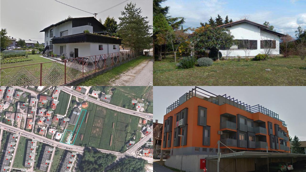 TOP dražbe: hiše v Ankaranu, Ljubljani in Škofji Loki, zemljišča v Ljubljani in stanovanje v Šmarju pri Jelšah