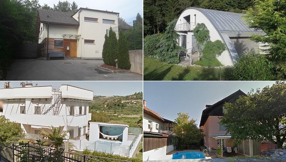 To so hiše, ki bodo na dražbah do začetka januarja
