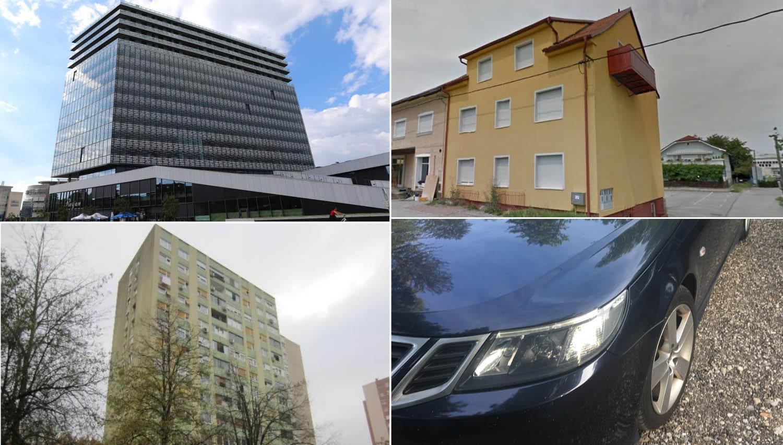TOP dražbe: Stanovanja v Ljubljani, Novi Gorici in Mariboru, saab 9-3 in stavbna zemljišča v na Viču