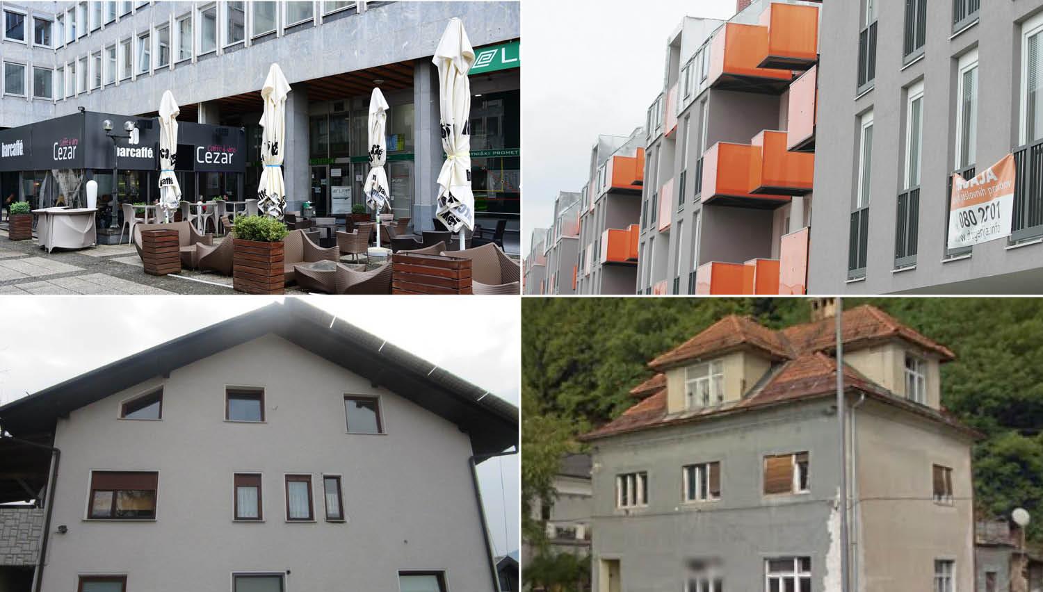 TOP dražbe: Hiša, stanovanje in lokal Cezar v Ljubljani, hiša na Vrhniki in industrijski objekti Aha Mure