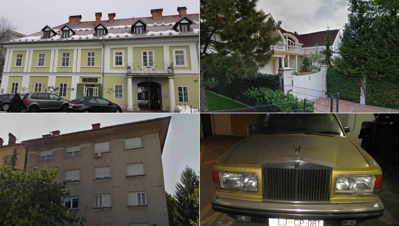 TOP dražbe: stanovanji v Ljubljani, rolls-royce ter hiši v Hajdini in Žalcu