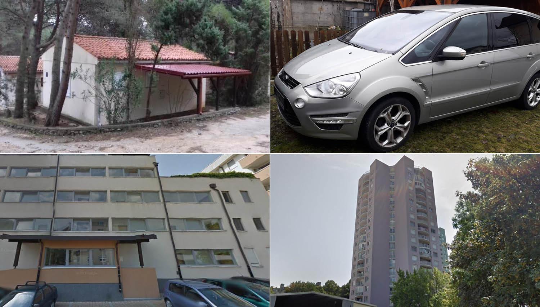 TOP dražbe: apartmaji na Lošinju, stanovanji v Ljubljani, ford S-max in poštne poslovalnice