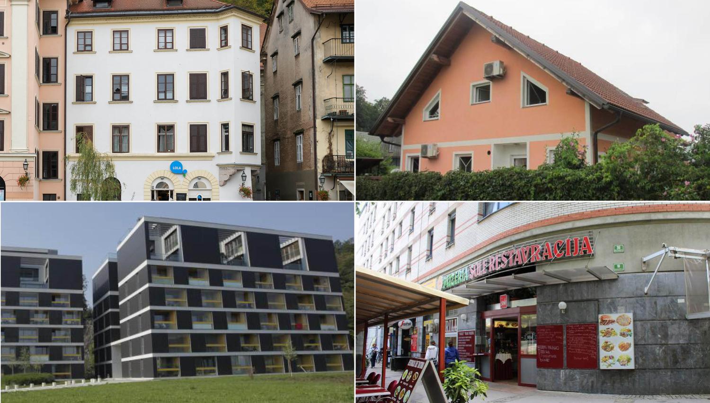 TOP dražbe: stanovanji in picerija v Ljubljani, polovica dvojčka v Grosupljem in hiša v Zgornji Koreni
