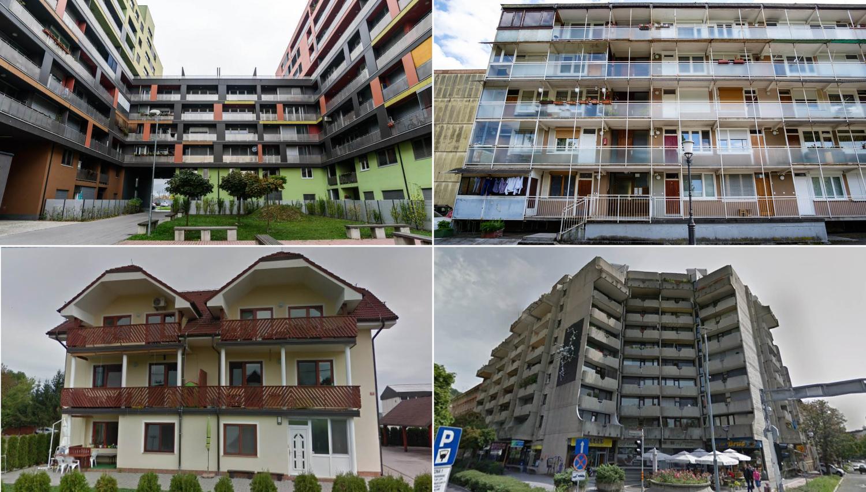 Stanovanja, ki se na dražbah prodajajo za največ 70 tisočakov