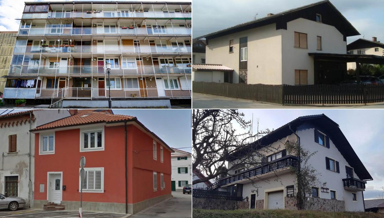 TOP dražbe: Stanovanji v Ljubljani in Kopru, zemljišče v Ankaranu in hiši na Štajerskem