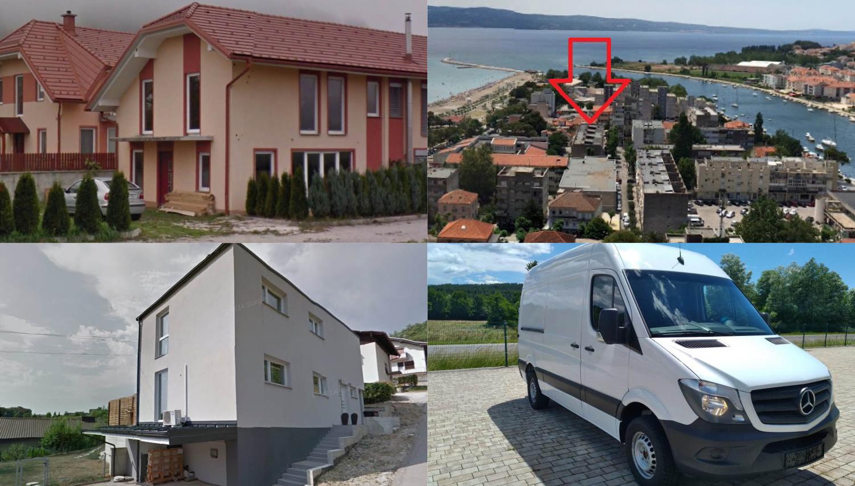 TOP dražbe: stanovanje v Ljubljani, apartma v Omišu, hiši v Domžalah in Rogaški Slatini, mercedes sprinter ...