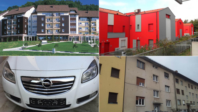 TOP dražbe: Stanovanje v Ljubljani, apartmaji v Ankaranu in Olimju, opel insignia, industrijski hali v Šmartnu pri Litiji