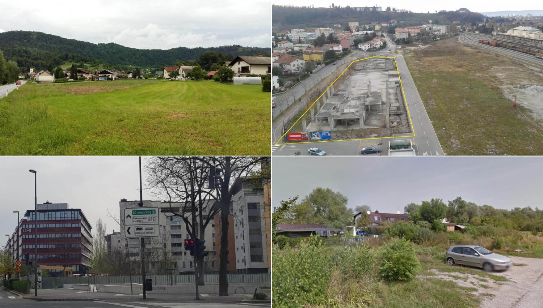 Bi gradili hiše ali stanovanja? Ta zemljišča bodo naprodaj na dražbah