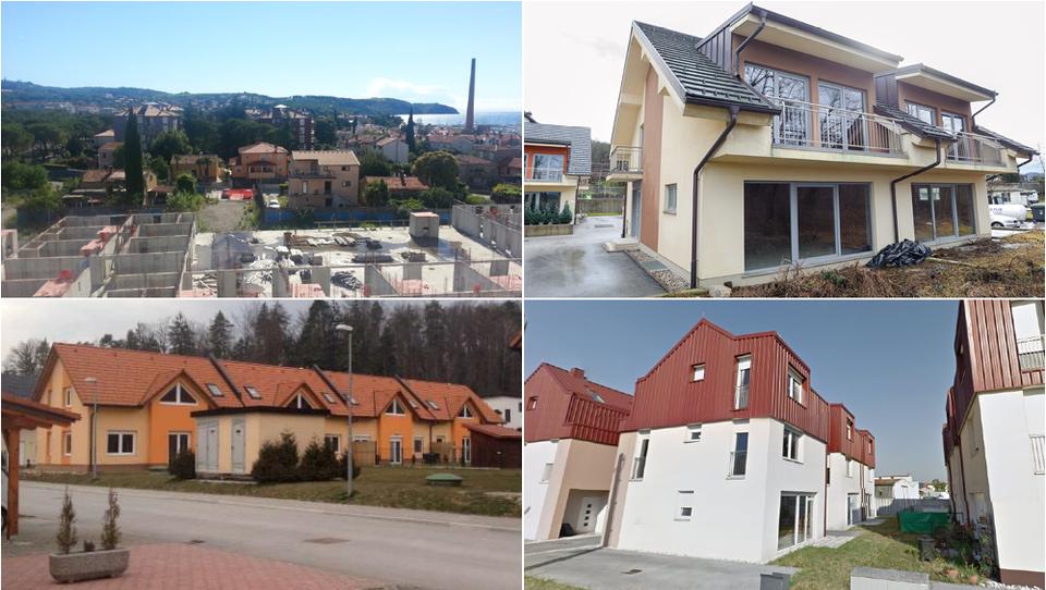 Radomlje in  Velenje. Prodane nove nedokončane hiše in stanovanja