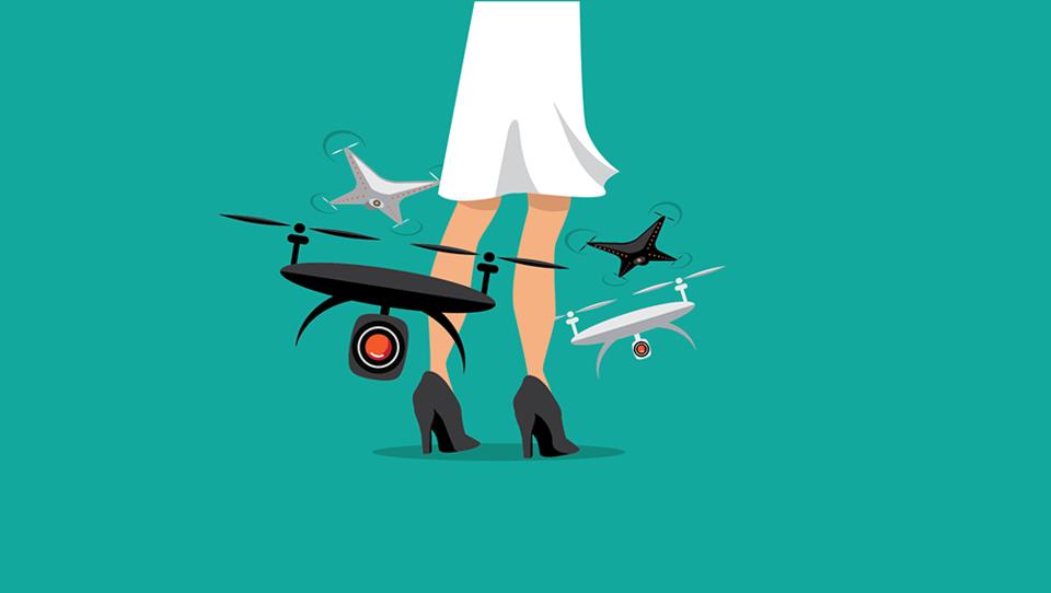 Pozor, gneča v zraku! Droni osvajajo biznis  in ljudi