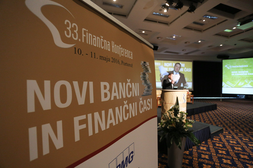 Drugi dan Finančne konference tudi o vlogi Fursa in strukturnih reformah