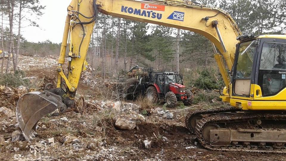 2TDK: Tako sta Kolektor CPG in bosanski Euroasfalt začela graditi ceste do delovišč drugega tira