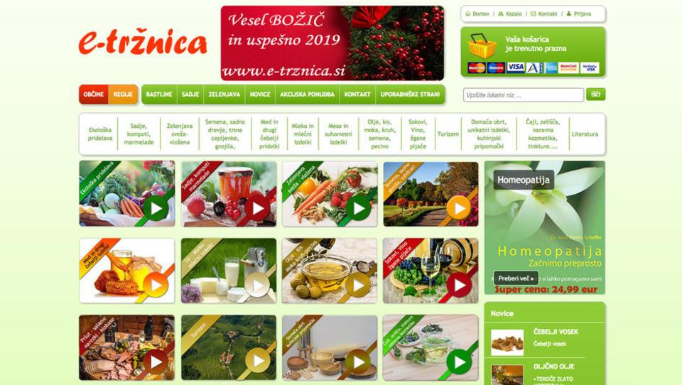 70 kmetij se že predstavlja na spletni tržnici