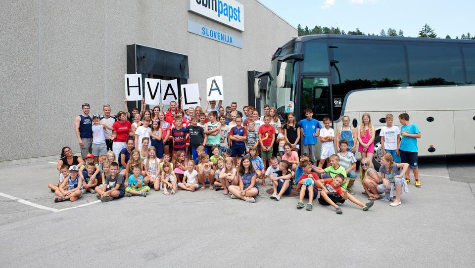 Notranjskim otrokom vsako leto omogočijo poletne radosti