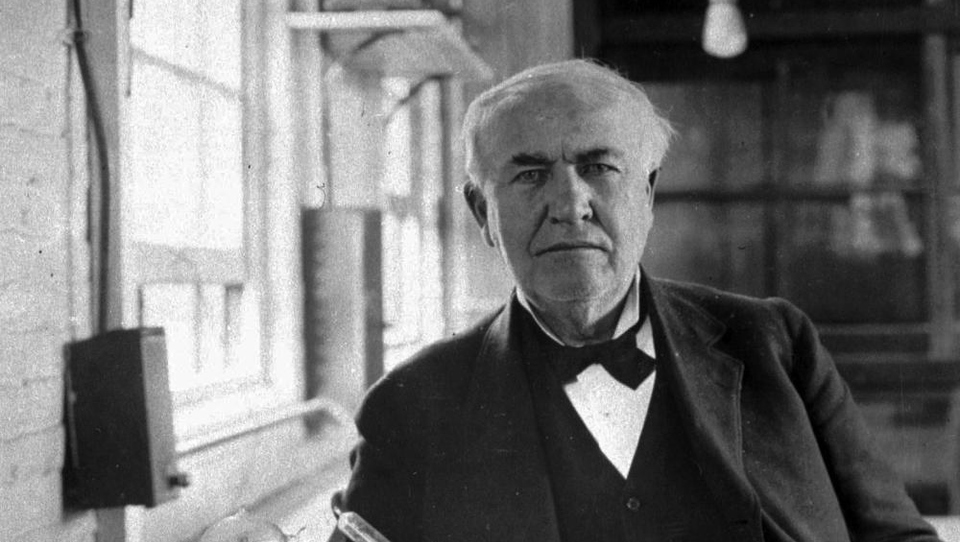 Bi dobili službo pri Thomasu Edisonu?