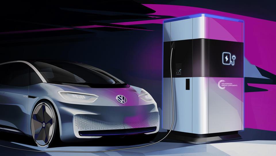 Volkswagen uvaja mobilne e-polnilnice