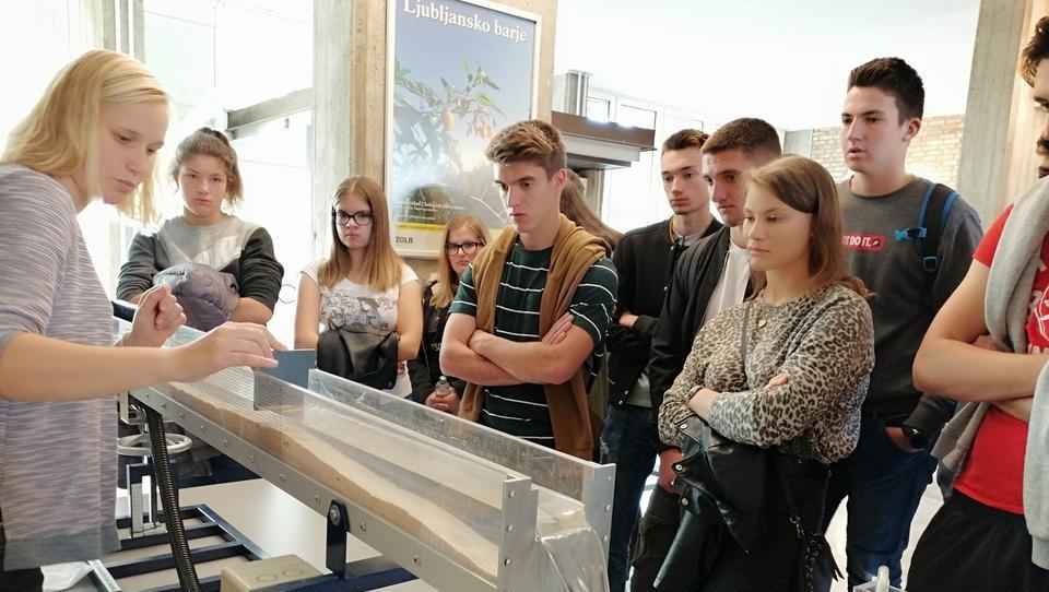 Dan odprtih vrat na ljubljanski fakulteti za gradbeništvo in geodezijo