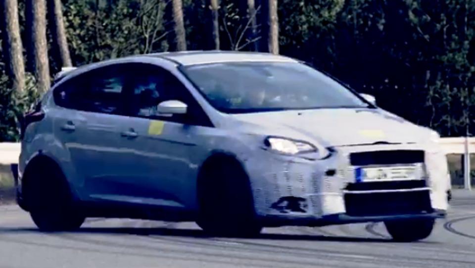 (video) Ford draži z divjo vožnjo focusa RS