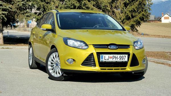 Ford focus znova najbolj prodajan avto na svetu