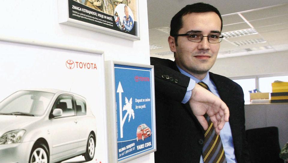 40-letni Ljubljančan postal predsednik Toyote v Nemčiji