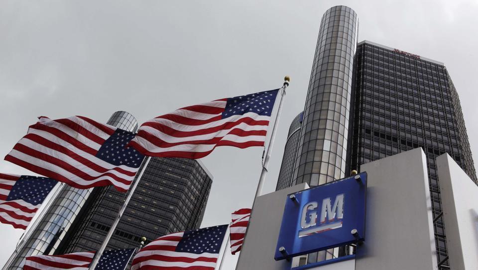 General Motors v zaprtje petih tovarn in opustitev do 14 tisoč delovnih mest