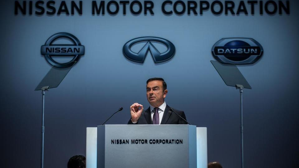 Prvi mož Nissana Carlos Ghosn napovedal odstop