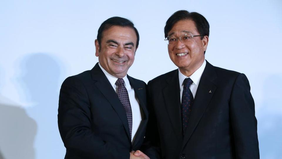 Renault Nissan se bo z Mitsubishijem izstrelil med največje na svetu