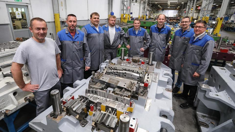 Vsak evropski avtomobil narejen tudi z orodjem Gorenja Orodjarne