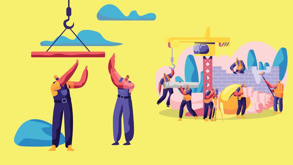 TOP gradbena podjetja: Gradbinci s skokom prihodkov, dobiček pa je »zabetoniran«