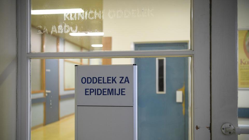 Na začasnem Oddelku za epidemije se že zdravijo prvi bolniki