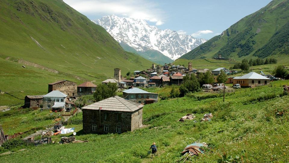 Peš po kavkaških vaseh
