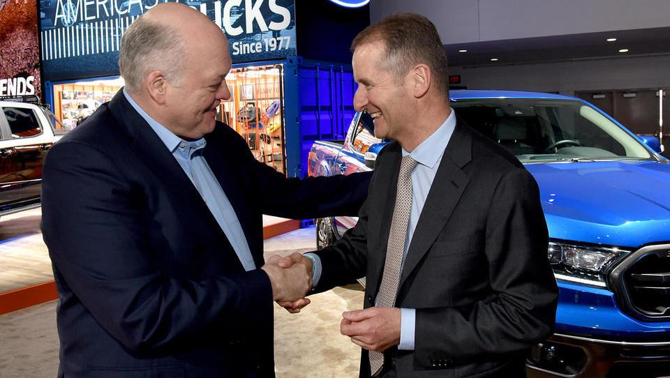 Ford in Volkswagen: Partnerstvo, ki bo prihranilo milijardo dolarjev