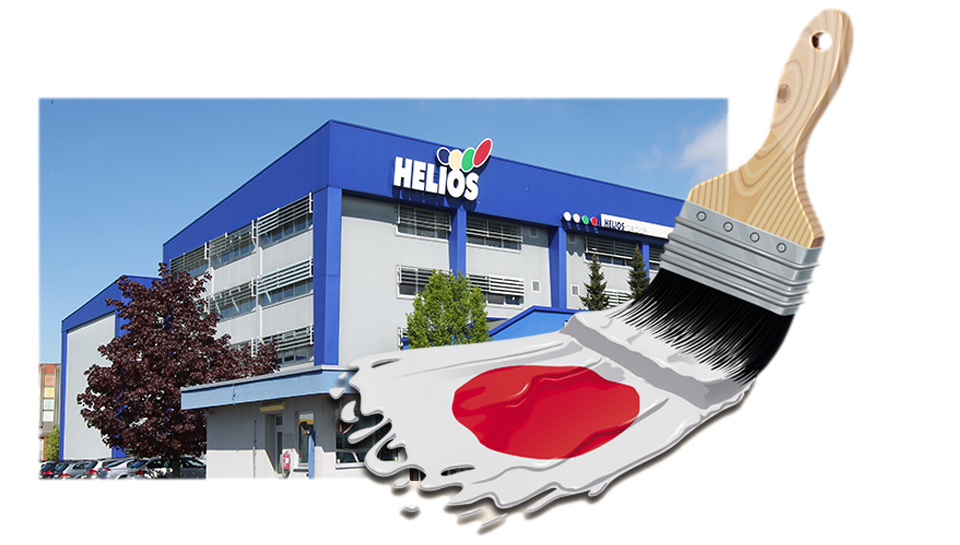 Helios bo evropski razvojni center za Kansai Paint