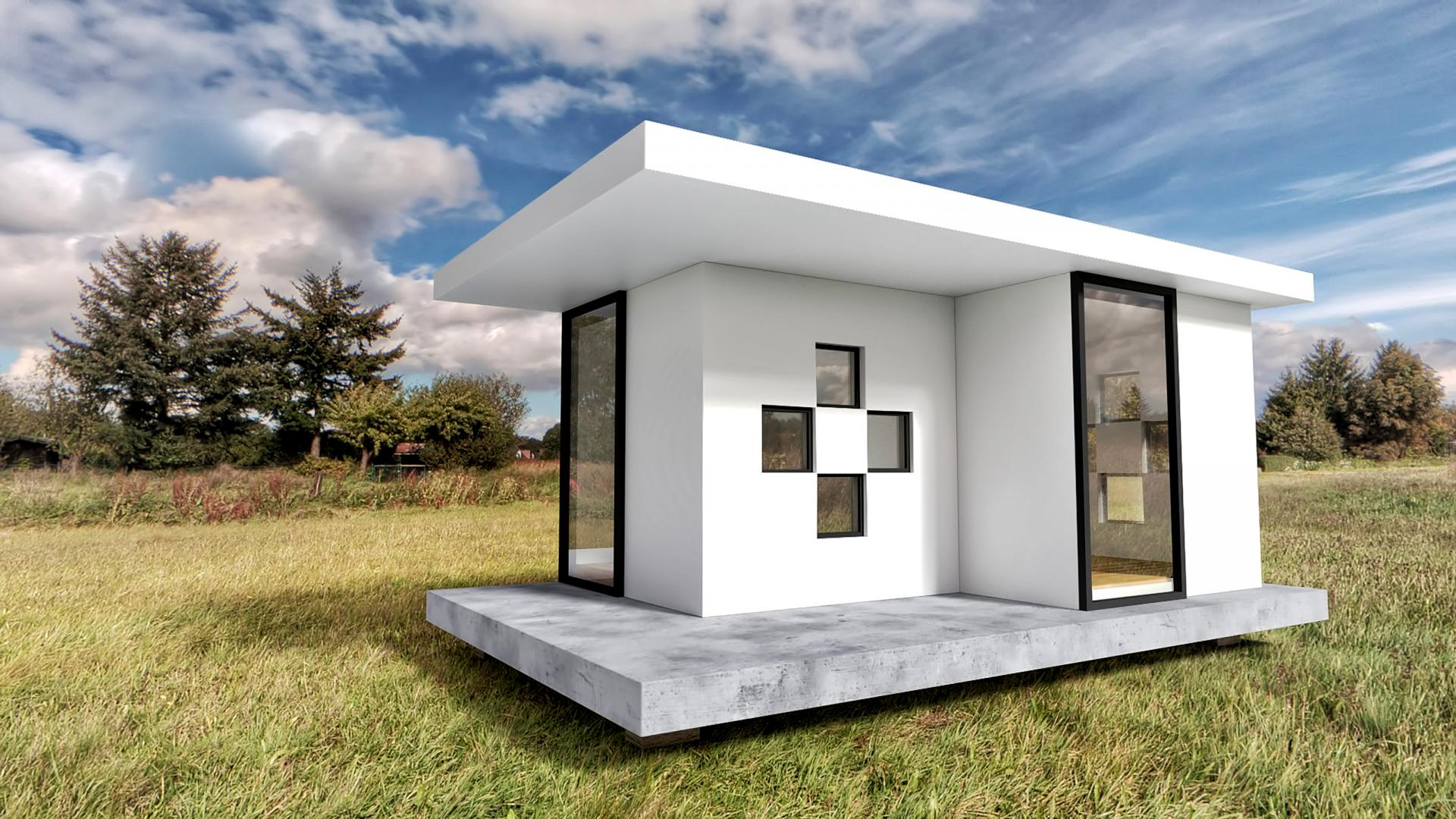 Arhitekturni minimalizem – stanovanje na dobrih sedmih ali hiša na 30 kvadratih