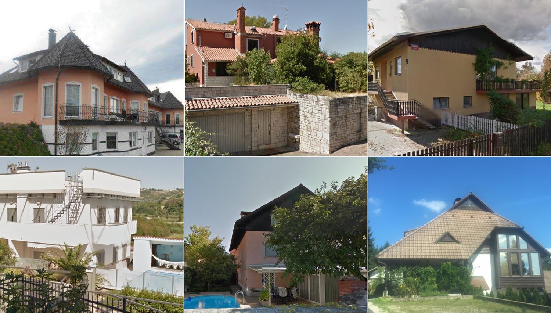 Oglejte si vseh 60 hiš, ki bodo marca na dražbah